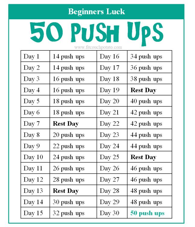 50 push ups 1