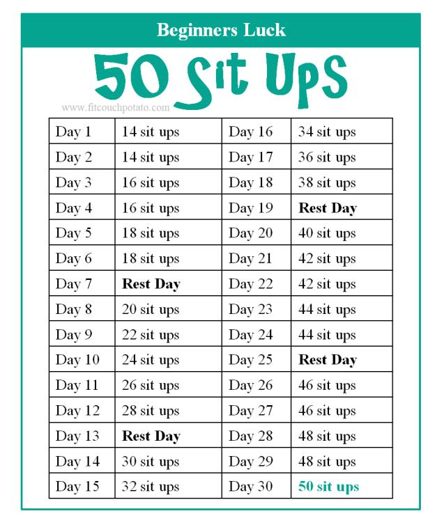 50 sit ups 1